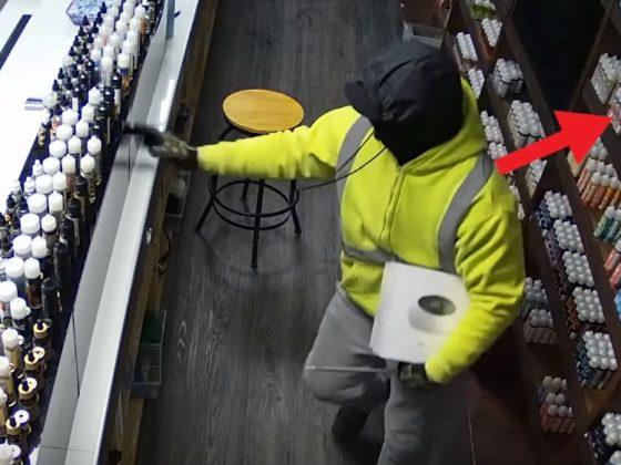 Flamingo Vape Shop Robbery Video