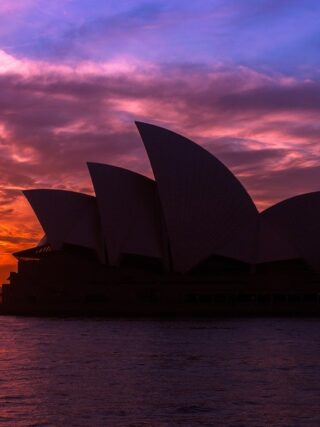 Sydney Opera House Sunset