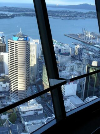 Auckland NZ City Tower View