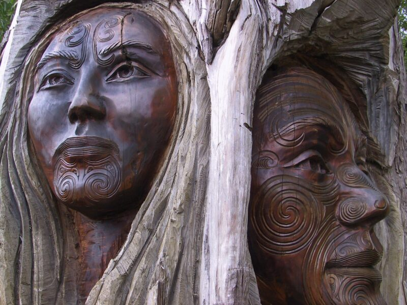 Maori Wood Carvings