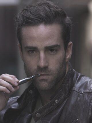 Male Model With Vape Pen